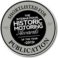 The International Historic Motoring Award 2013
