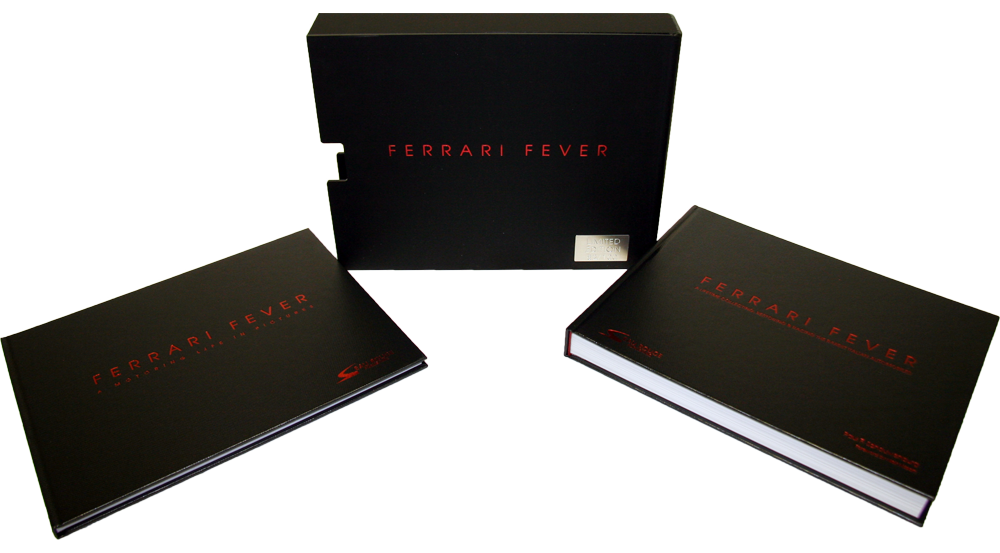 Ferrari Fever Book - Limited Edition - By Eaurouge Publishing