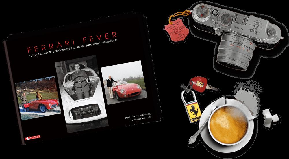 FERRARI FEVER A Lifetime Collecting.Restoring /& Racing Italian Automobiles
